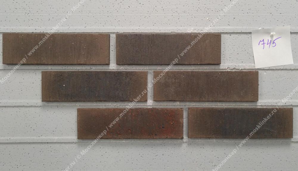 Плитка под кирпич Feldhaus Klinker, VASCU, R745NF14, поверхность Wasserstrich, geo venito