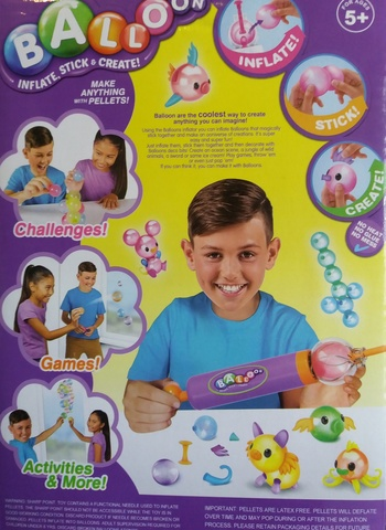 Конструктор из надувных шариков - Balloon 48 шариков