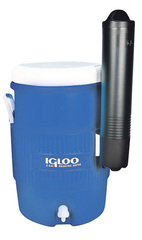 Изотермический пластиковый контейнер Igloo 5 Gal St Cup Disp Blue