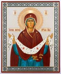 Икона Божией Матери Покров (ростовой) 2