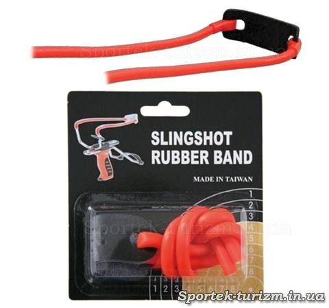 Резинка оранжевого цвета для рогаток Man Kung MK-TR-O