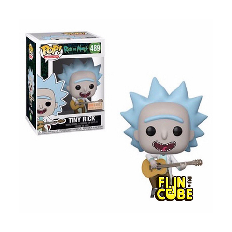 Funko Rick and Morty: Tiny Rick with Guitar (No. 489)