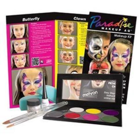 MEHRON Набор грима Paradise Face Painting Kit