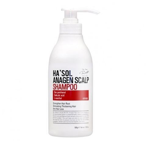 Шампунь Против Выпадения Волос HA'SOL Anagen Scalp Shampoo