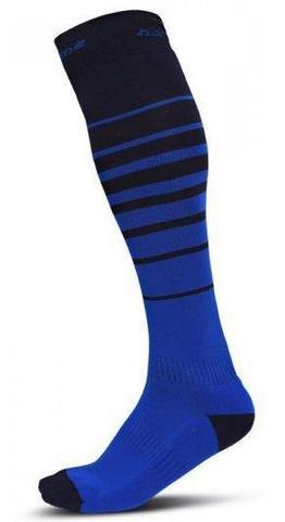 Гетры для спортивного ориентирования Noname O-socks Striped dark blue