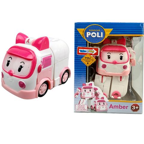 Игрушка Робокар Поли в индивидуальной упаковке Amber 1кор*1бл*1шт