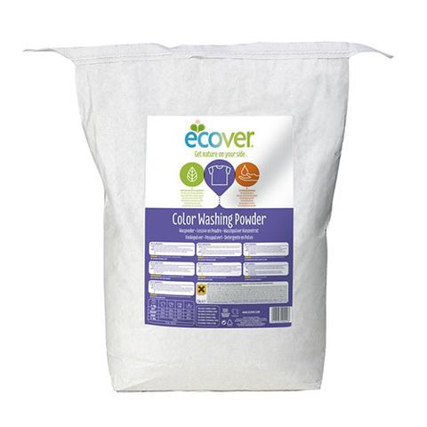 ECOVER экологический стиральный порошок КОНЦЕНТРАТ для цветного белья 7,5 кг.