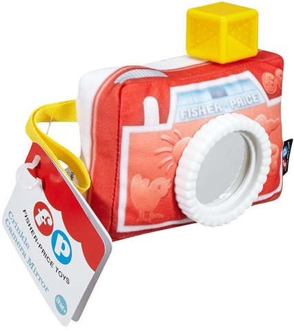 Fisher-Price Мягкая игрушка Фотоаппарат с зеркальцем