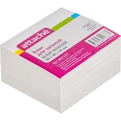 Блок-кубик ATTACHE ЭКОНОМ запасной 9х9х4,5 белый