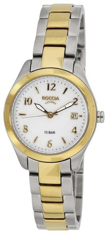 Купить Женские наручные часы Boccia Titanium 3224-02 по доступной цене