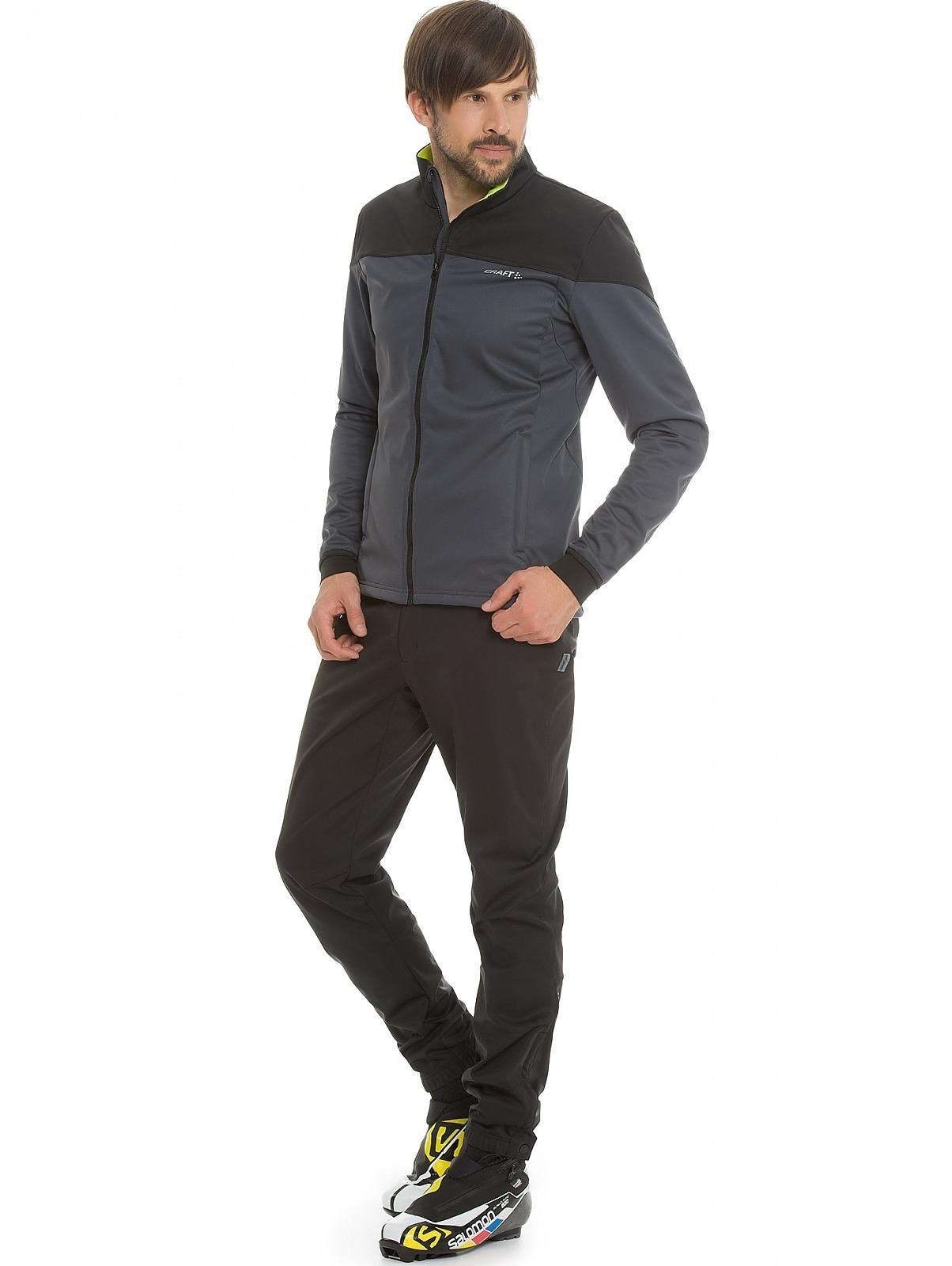 Мужская лыжная куртка Craft Voyage XC (1903581-2995) серая