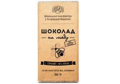 Горький шоколад на меду, 90г