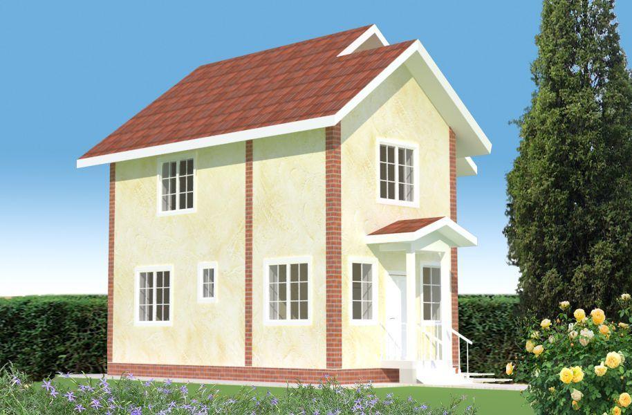 """Строительство каменных домов Дом из камня """"МД-К-88"""" 88 кв.м. 1_4.jpg"""