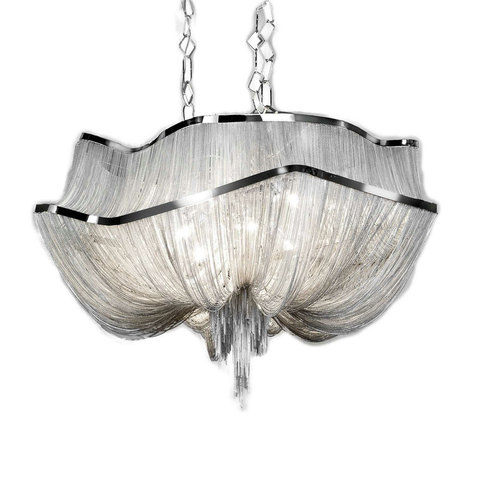 replica TERZANI   Atlantis 2 suspension lamp (silver)