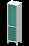 Шкаф лабораторный  ШКа-1  АйЛаб Organizer (вариант 9)
