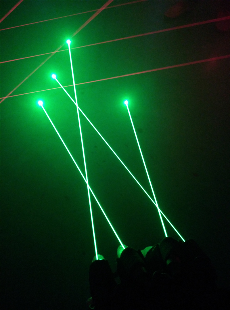 Green Laser Gloves, foto 4