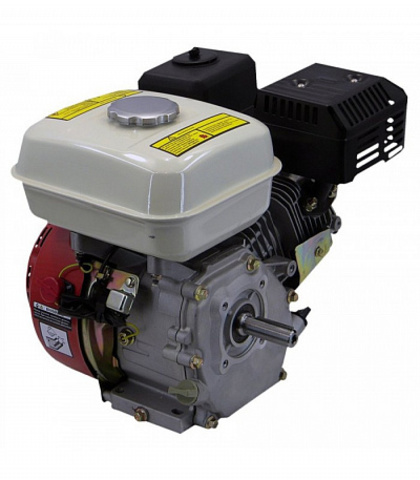 Бензиновый двигатель Юниор 6.5л/с  (4-х тактный) вал 19мм
