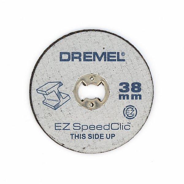 Отрезные круги по металлу SpeedClic SC456 5шт Dremel 2615S456JC