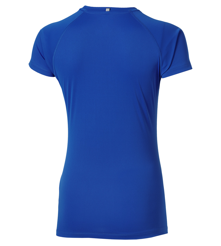 Женская футболка для бега Asics Stripe SS Top (126232 8091) фото