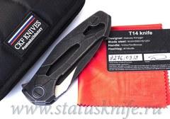 Нож CKF T14B (new T90) Alexey Konygin, M390, Copper, Ti