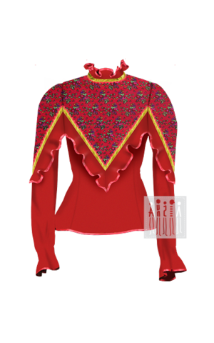 Фото Донская Казачка жакет женский рисунок Выбирайте лучший казачий костюм в Мастерской Ангел. Мы специализируемся на народной, в том числе, казачьей одежде!
