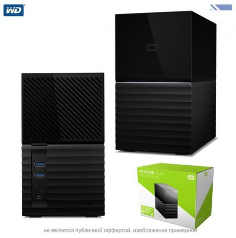 Жесткий диск внешний Western Digital My Book Duo 20TB Two-Bay USB 3.0 Type-C RAID Array (2 x 10TB) WD