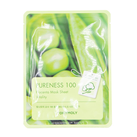 Tony Moly Pureness 100 Placenta Mask Sheet Vitality