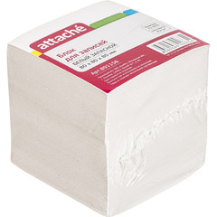 Блок-кубик ATTACHE ЭКОНОМ запасной 8х8х8 белый