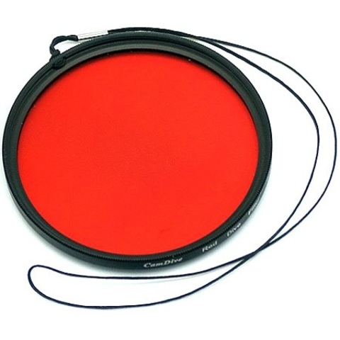 Коррекционный фильтр CamDive Red Filter 67mm