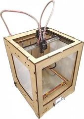 Фотография — 3D-принтер ZAV MAX T фанерный корпус