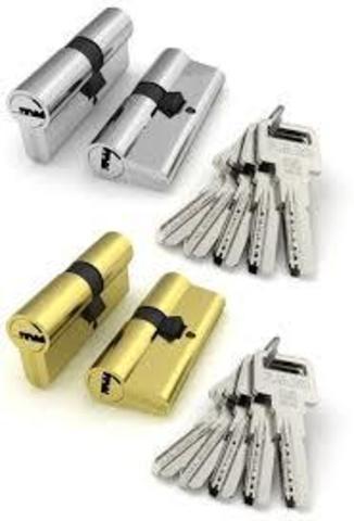Личинка замка (Цилиндрич. механизм ) R600/70mm (35*35) (30+10+30) кл./кл. перфокарта