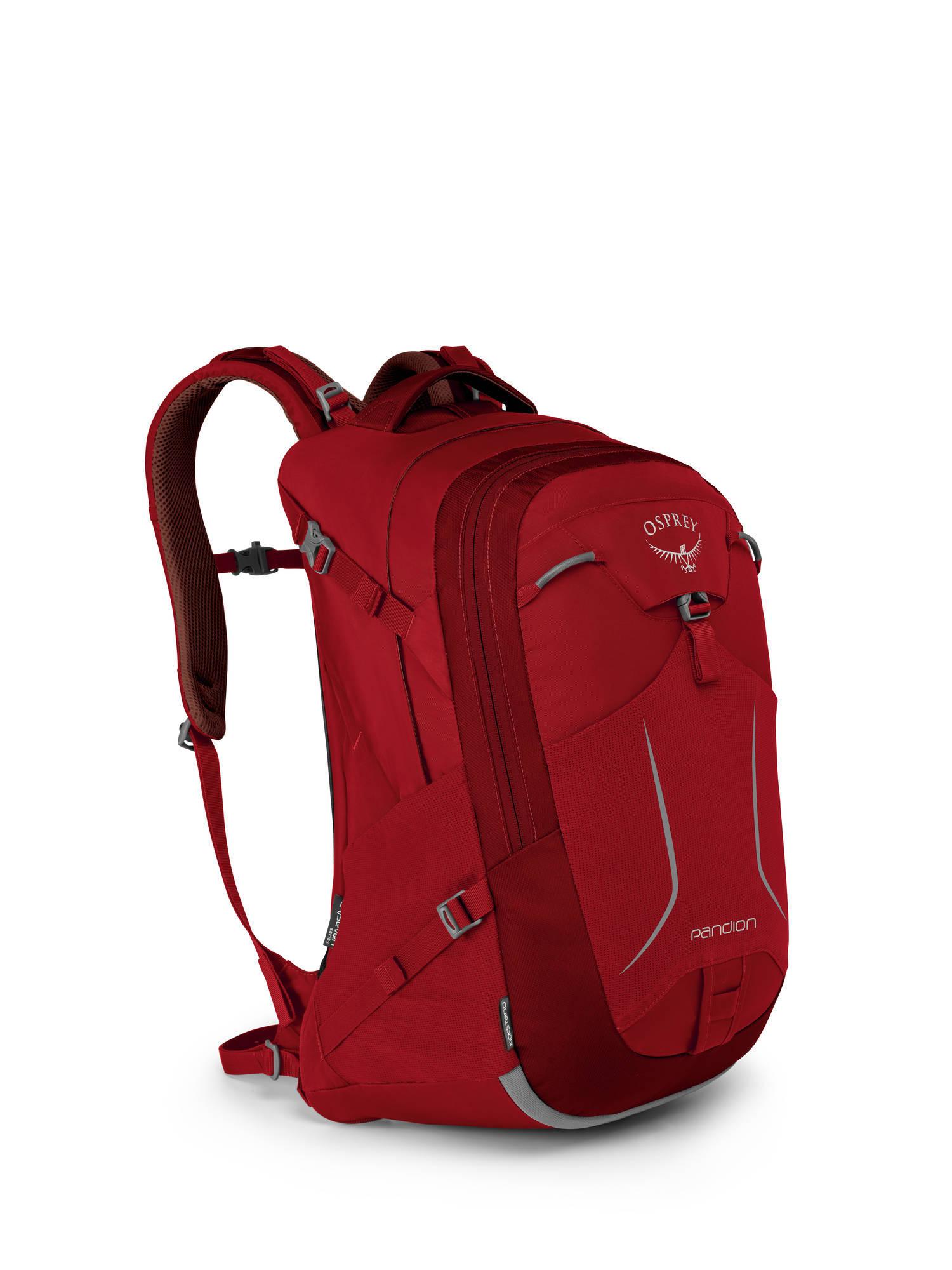 Городские рюкзаки Рюкзак городской Osprey Pandion 28 Robust Red Pandion_F17_Side_Robust_Red_web.jpg