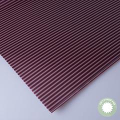 Бумага упаковочная бордовая (полосатая) 60*60см