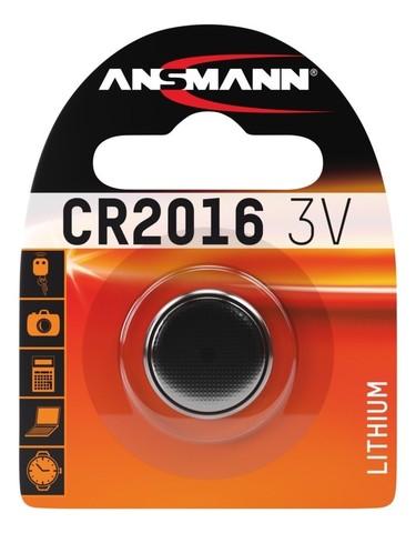 Батарейка CR 2016 ANSMANN 3V (Premium)