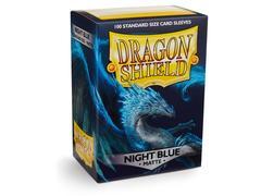 Dragon Shield - Тёмно-синие матовые протекторы 100 штук