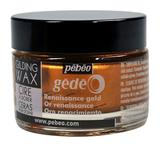 Воск (вакса) для золочения Gedeo 30 мл Цвет Золото Ренессанс