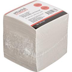 Блок-кубик ATTACHE ЭКОНОМ запасной 7х7х8 белый
