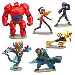 Набор фигурок Город героев (6 игрушек)