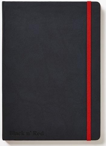 Блокнот Black n' Red Business Journal A5 (15*22см) линейка 72л твердая обложка