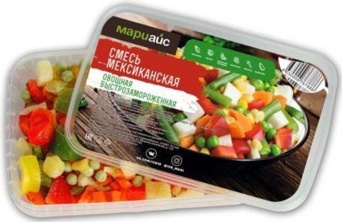 Смесь овощная «Мексиканская» быстрозамороженная, МариАйс, 400 г