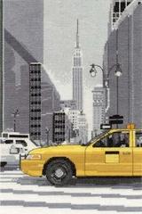 Набор для вышивания DMC. New York Taxi