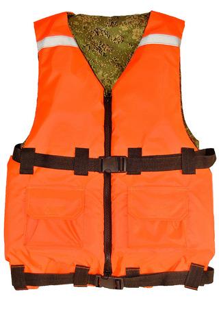 Спасательный жилет до 100 кг двухсторонний
