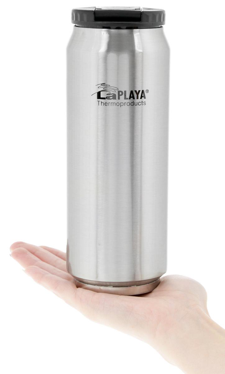 Термокружка La Playa Warm-Cool Can (0,5 литра) серебристая