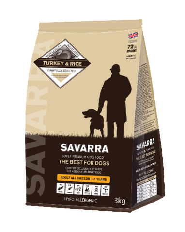 SAVARRA ADULT ALL BREEDS TURKEY&RICE