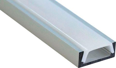 Профиль для светодиодной ленты накладной алюминиевый