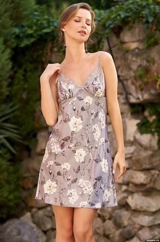 Сорочка Mia Amore с принтом 3584 (70% нат. шелк)