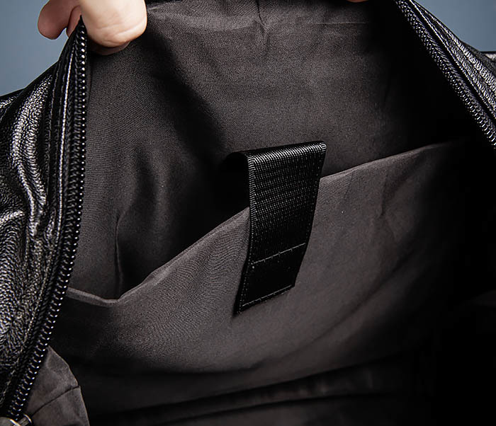 BAG546 Кожаная мужская сумка для поездок фото 13