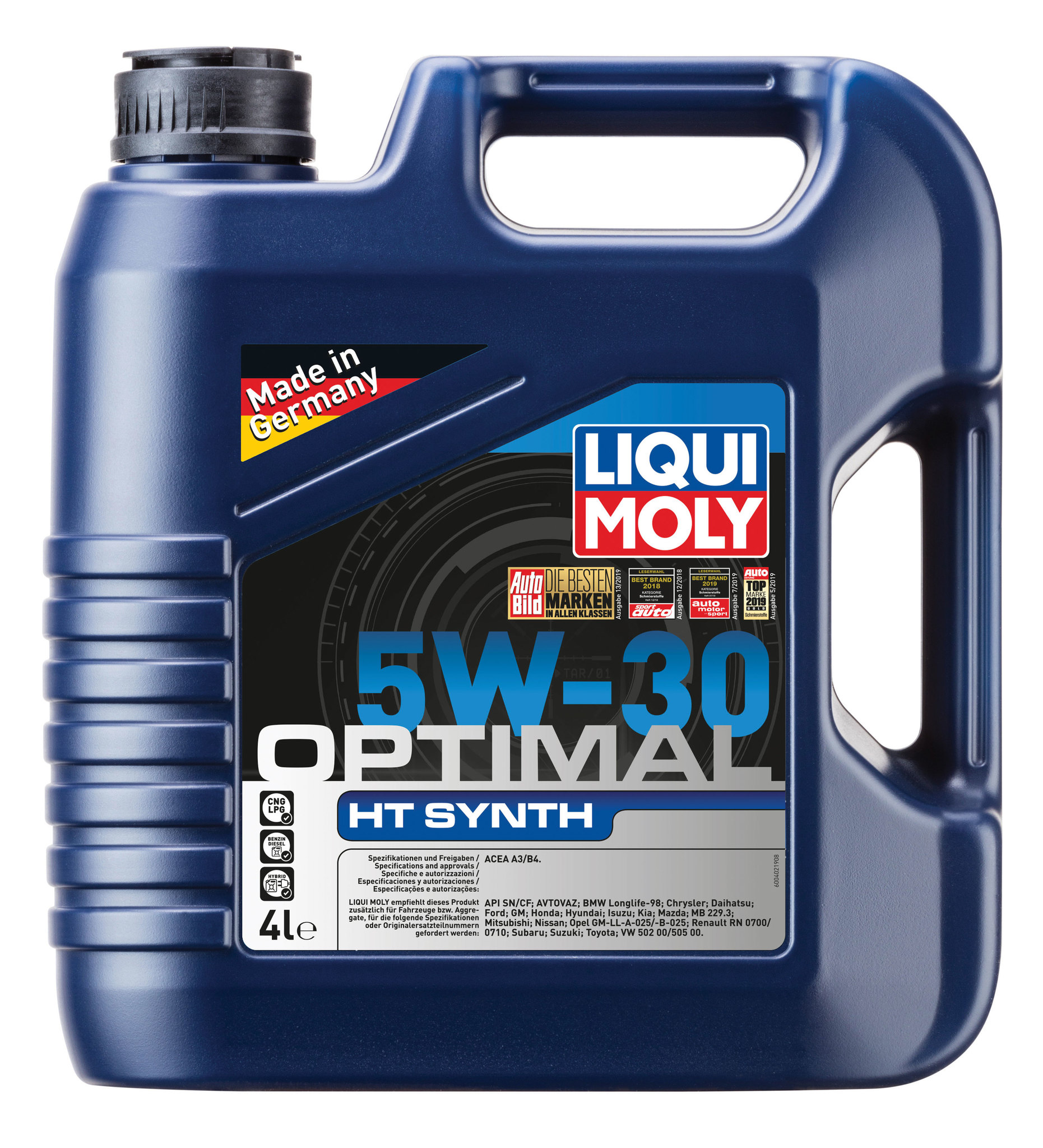 Liqui Moly Optimal HT Synth 5W30  НС синтетическое моторное масло