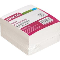 Блок-кубик ATTACHE ЭКОНОМ запасной 8х8х4 белый
