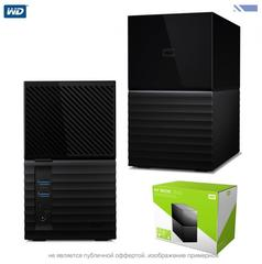 Жесткий диск внешний Western Digital My Book Duo 8TB Two-Bay USB 3.0 Type-C RAID Array (2 x 4TB) WD